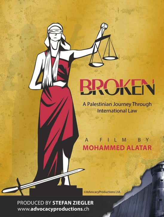 image du film Broken, voyage palestinien à travers le droit international